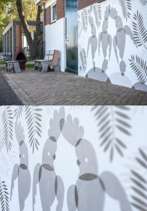 mural artwork leendert meets ingrid