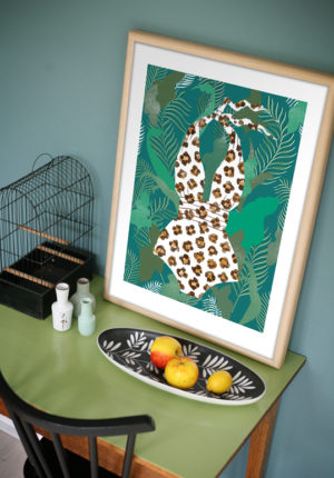 leendert meets ingrid artprint