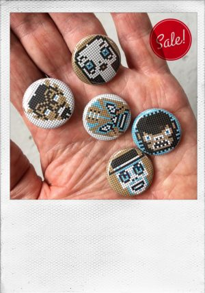 button set monsters